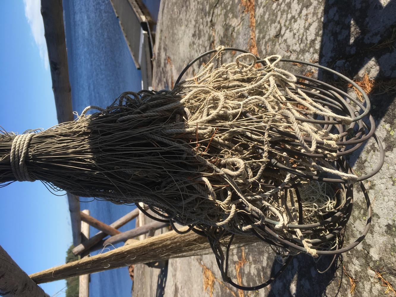 Fishing net gear by Tomas Fredriksson