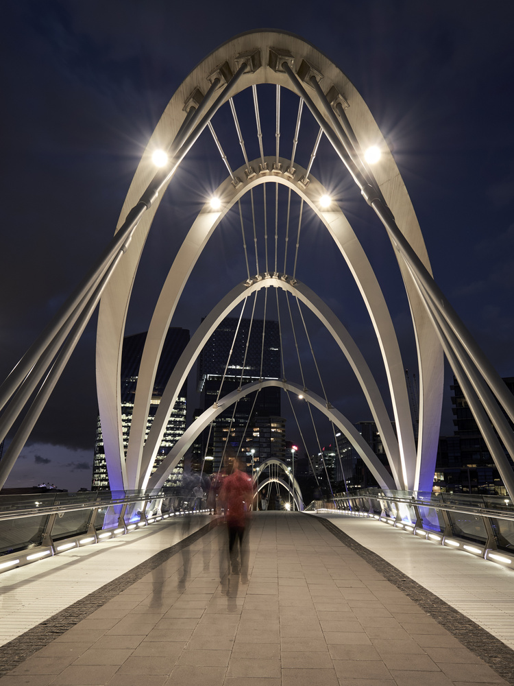 Seafarers Bridge, Melbourne by Rebecca Francis