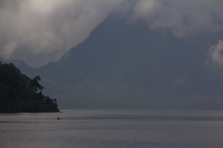 Seven mountain lake, sumatra by Rebecca Francis