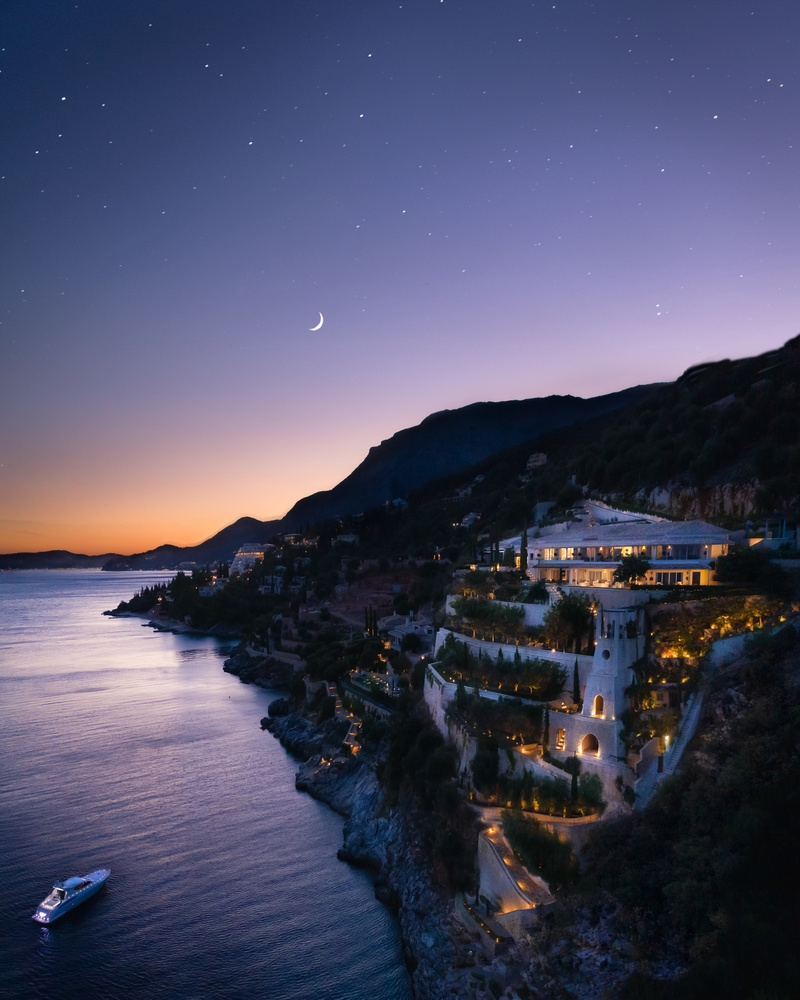 A Night in Greece by Ali Alsulaiman