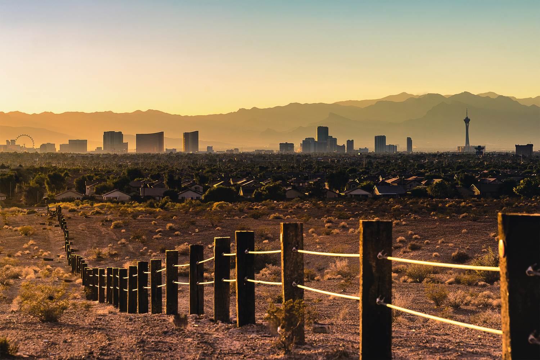 Vegas Sunset by Manohar Dasari