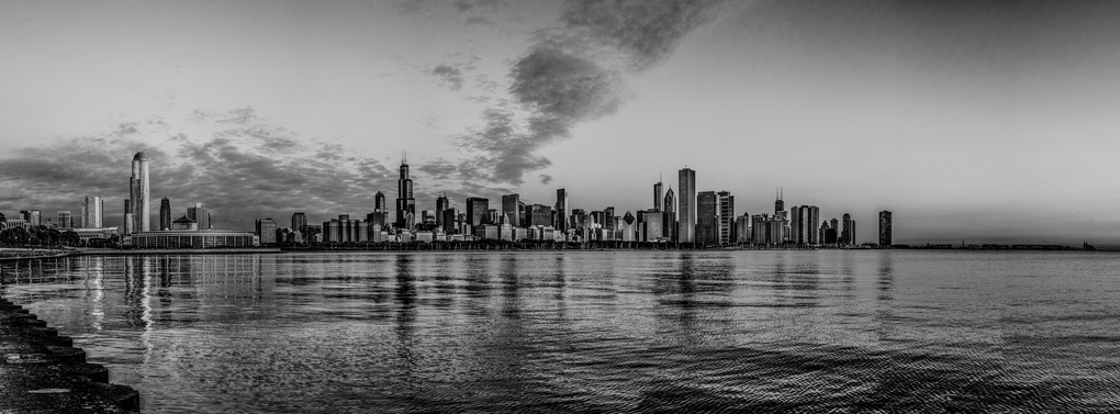 Chicago Skyline by Paul Stonehouse