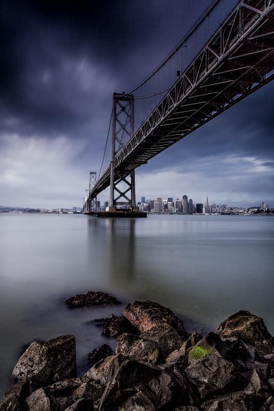 Under the Bay Bridge by Paul Stonehouse