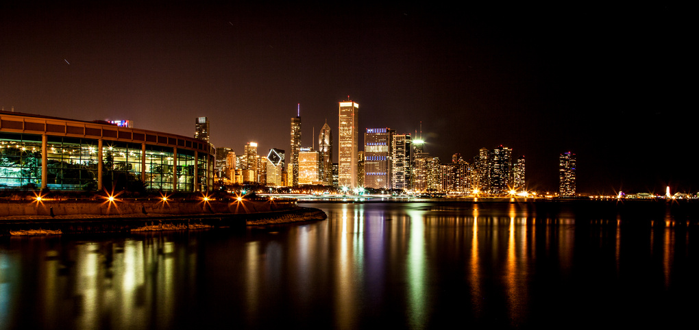 Skyline of Chicago by Paul Stonehouse