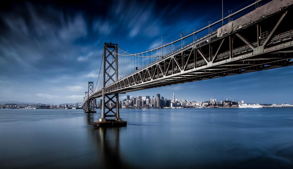 The majestic Bay Bridge by Paul Stonehouse