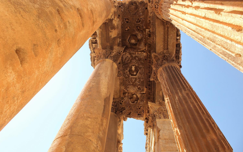 the great temple by Selin Fantel