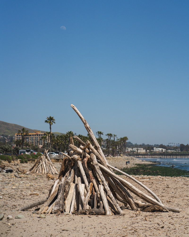San Buenaventura State Beach by Bill Anastas
