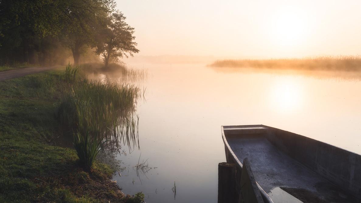 Foggy sunrise by Mike Furkalowski