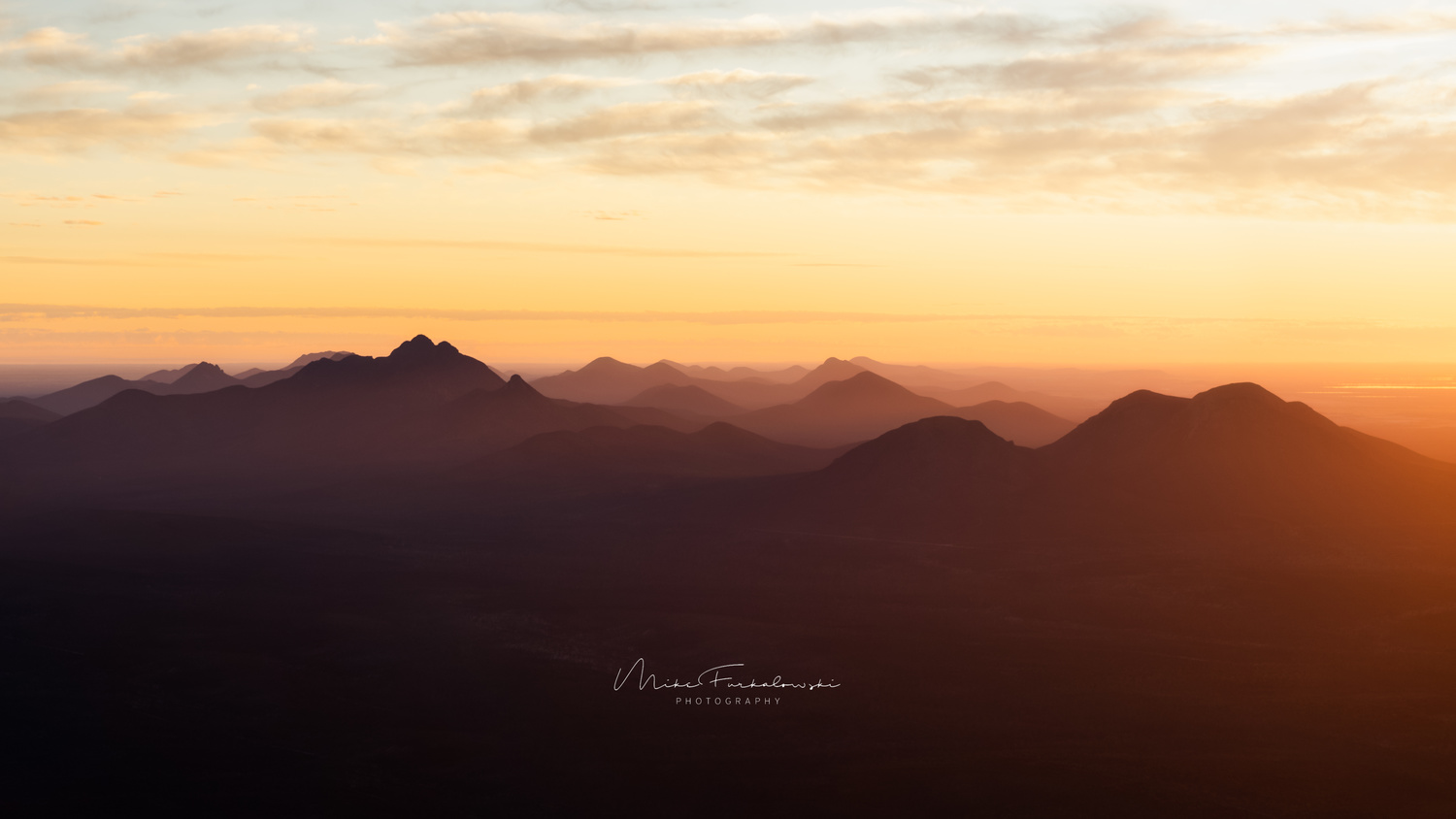 Stirling Range, Western Australia by Mike Furkalowski