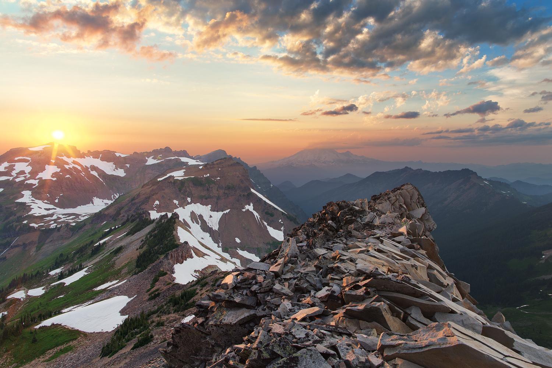 Goat Rocks, WA by Jesse Merz