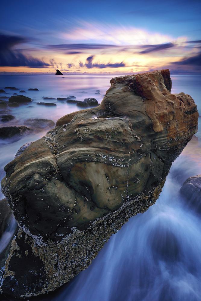 Tide Sculpted Rock by Jesse Merz