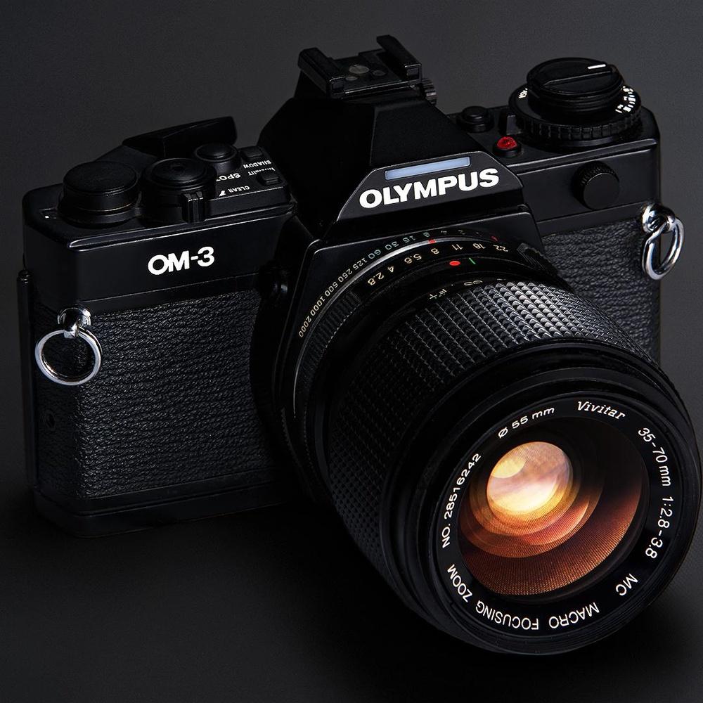 Olympus OM-1 by Jesse Merz