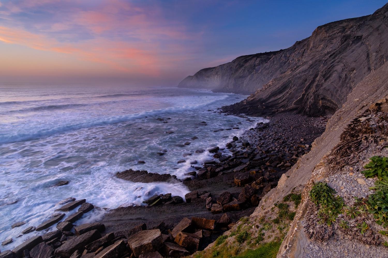 Rough basque coast by Marvin Schweer