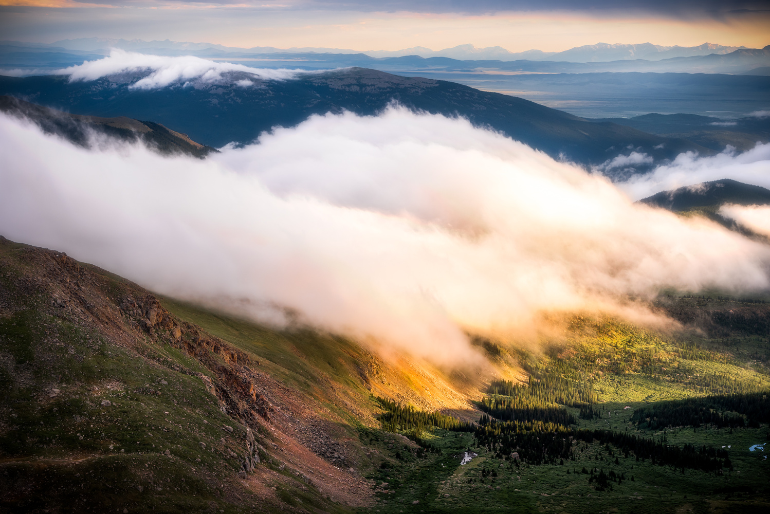 Above the clouds by Korey Shumway