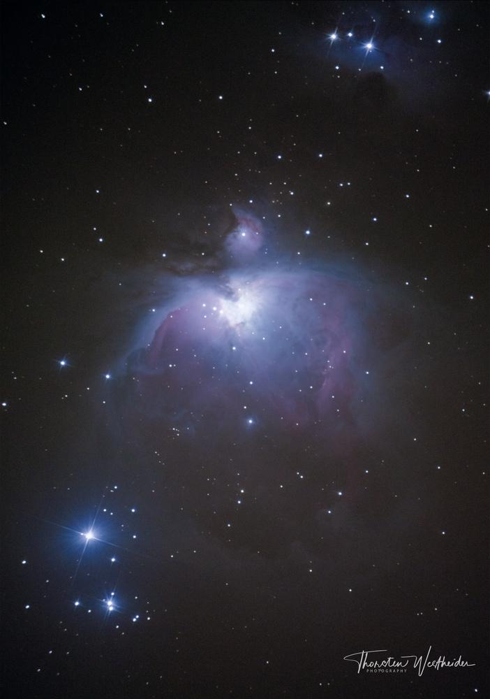 Orion Nebula by Thorsten Westheider