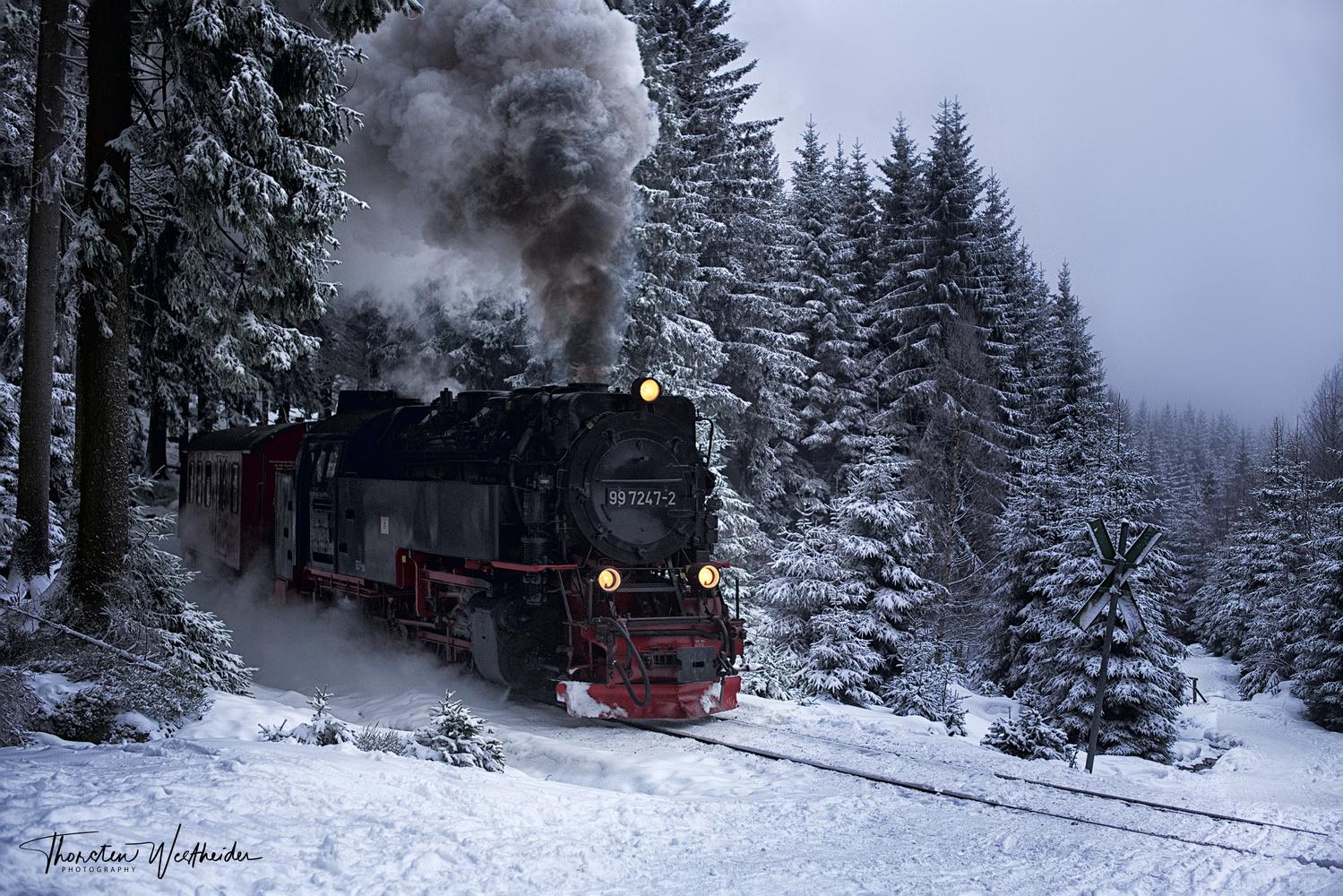 Brockenbahn by Thorsten Westheider