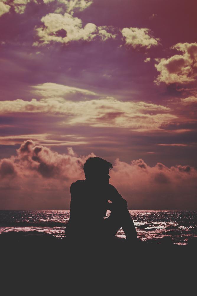 Dreamy Silhouette by Krishna Deep Bhamidipati