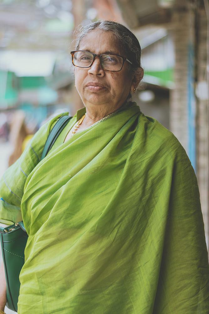 Portrait of My Grandma by Krishna Deep Bhamidipati