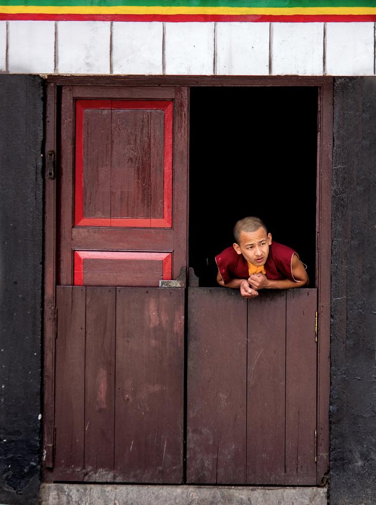Monk by Krishna Deep Bhamidipati