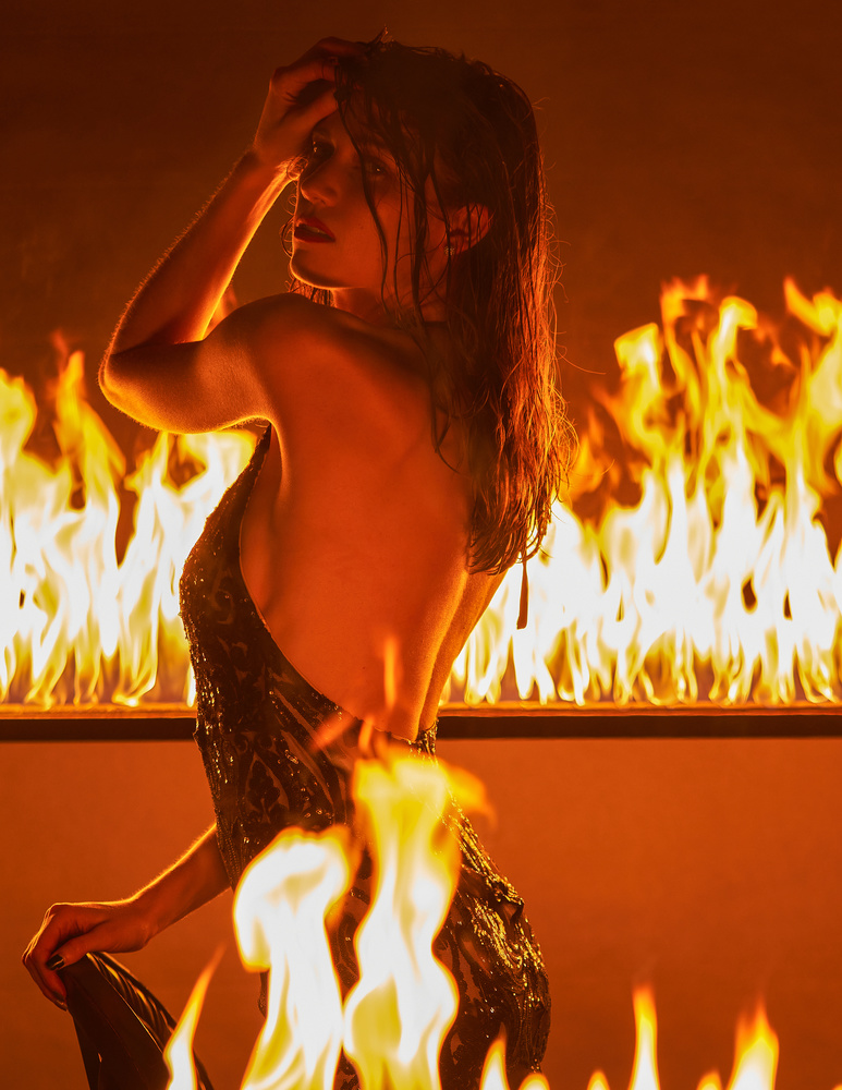 Taylor on Fire by Jeff Bennion