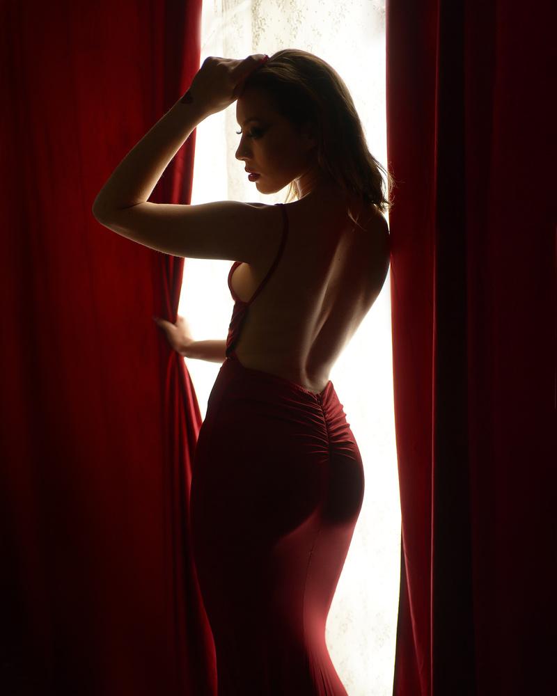 Lauren at the Window by Jeff Bennion