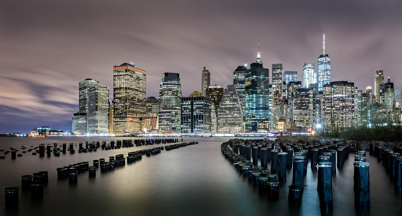 NYC night view by marco de fazio
