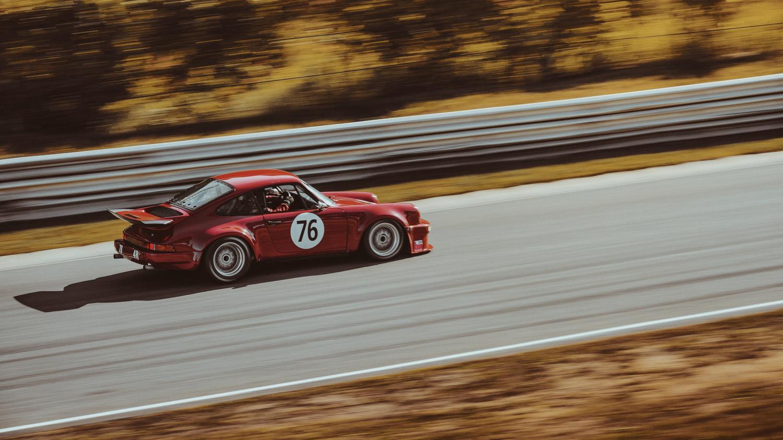 Porsche at Lime Rock by jack nesbitt