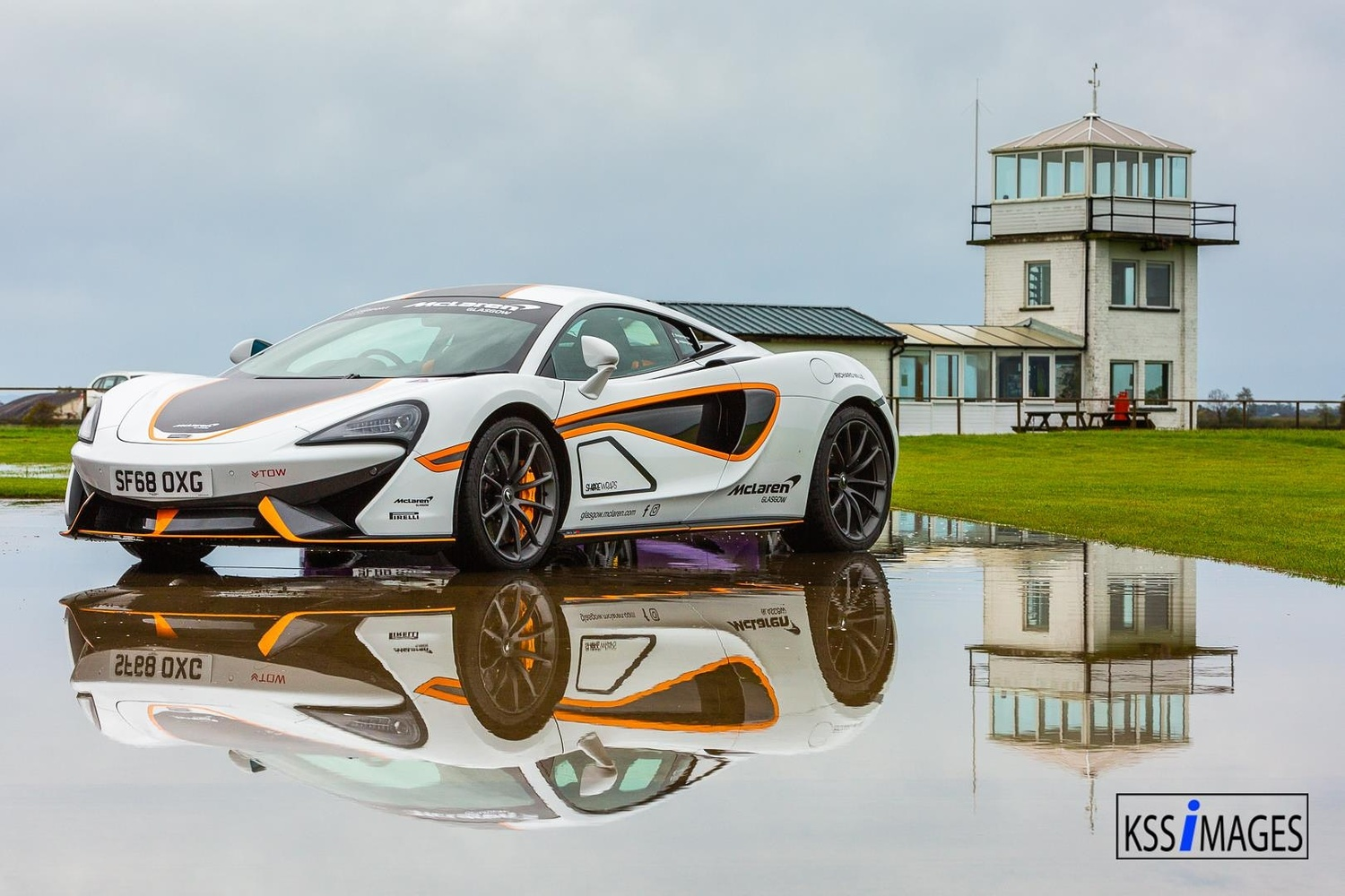 McLaren 570S Supercar at airport by Kevin Sloan
