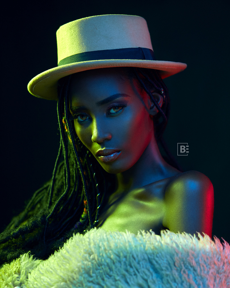 Color Gels with Adwoa by Anthony Armah