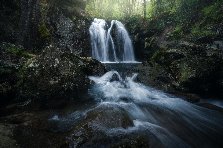 The big waterfall by alfonso maseda varela