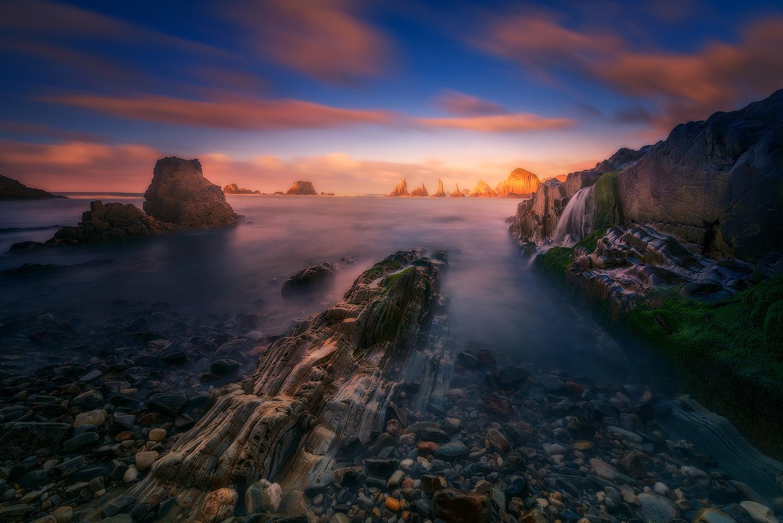 gueirua sunset by alfonso maseda varela
