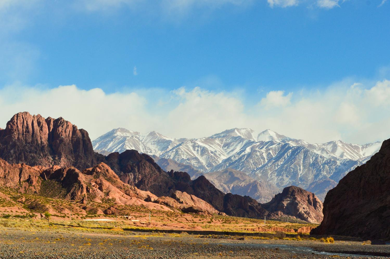 Argentinian Andes by Eduardo Perez
