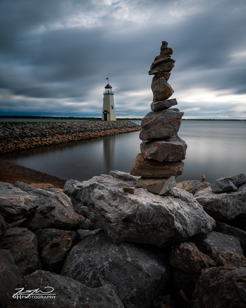 Hefner Cairn by Mitchell Hastings
