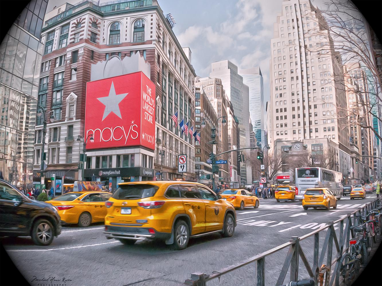 Slice of New York by Michael Rosen