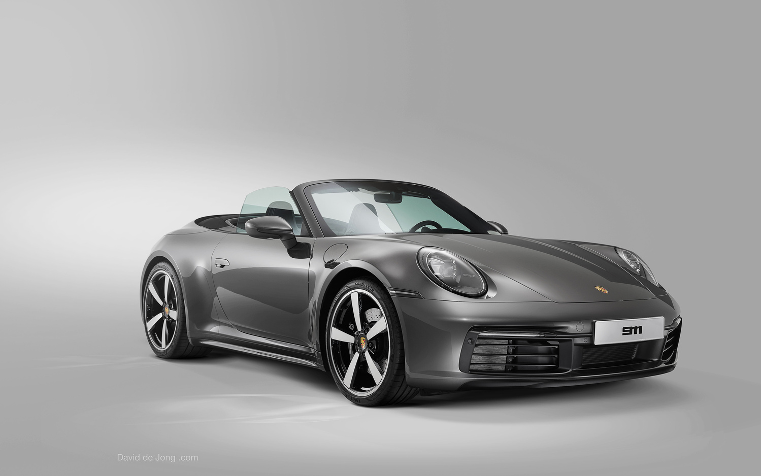 Car photography Porsche 911 992 by David de Jong