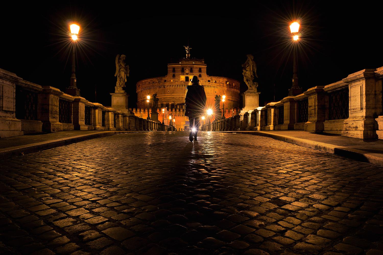 Night walk by Alessandro Vegini