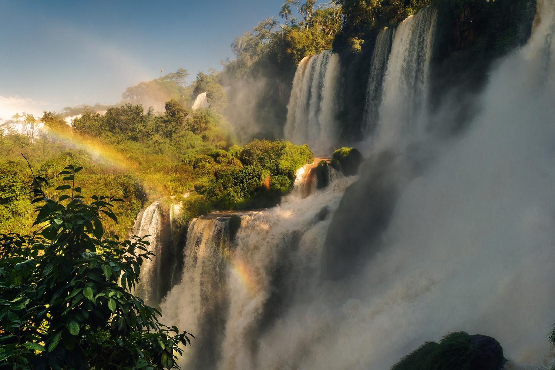 Iguazu falls by Alessandro Vegini