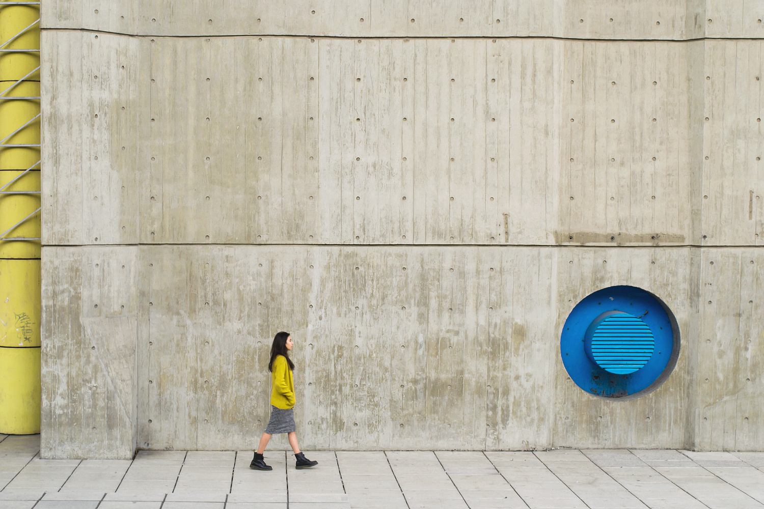 From yellow to blue by Alessandro Vegini