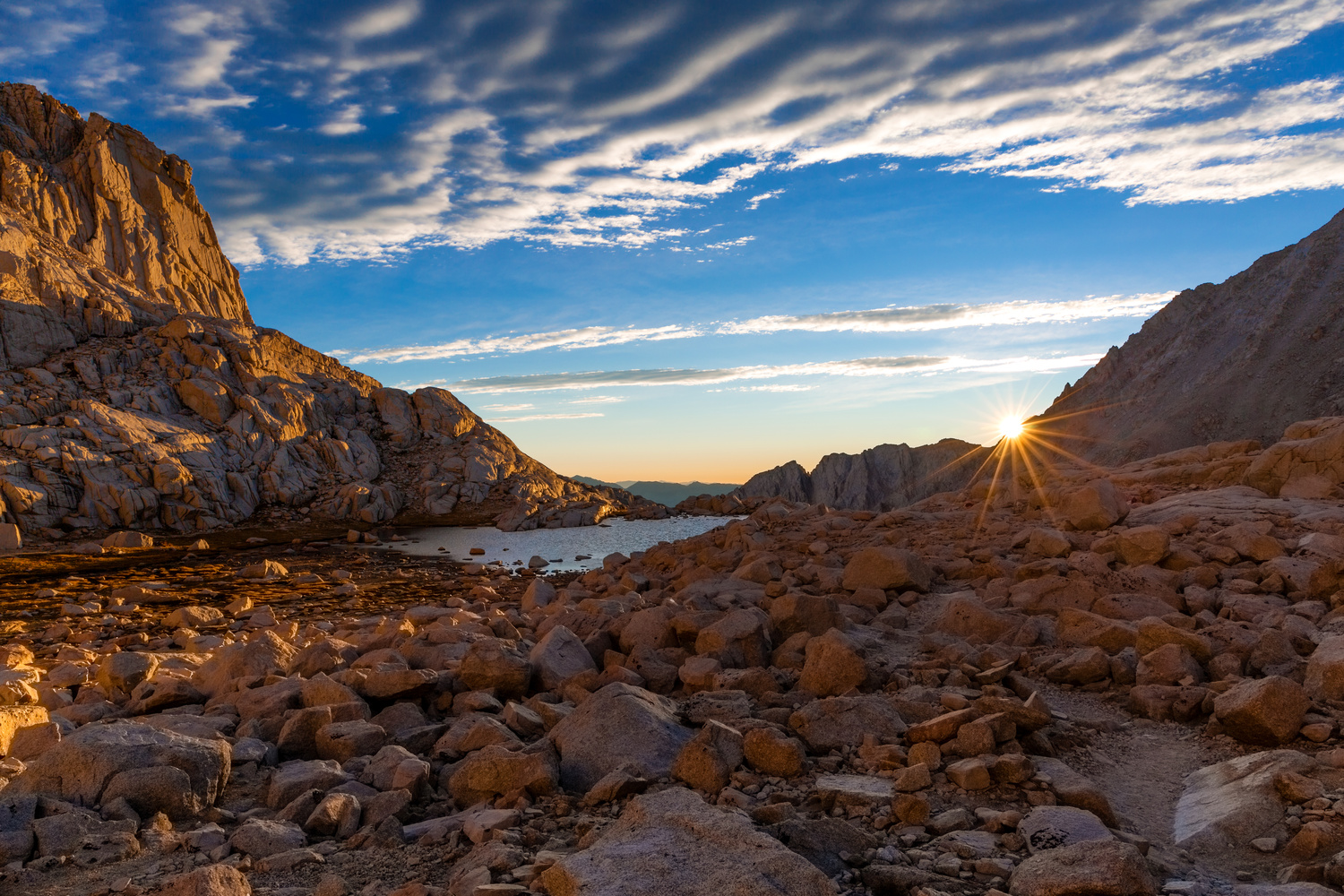 Sunrise from Trail Camp by Ryan Smoke