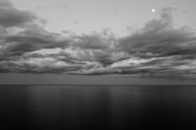 Night Lake Superior by Ken Savage
