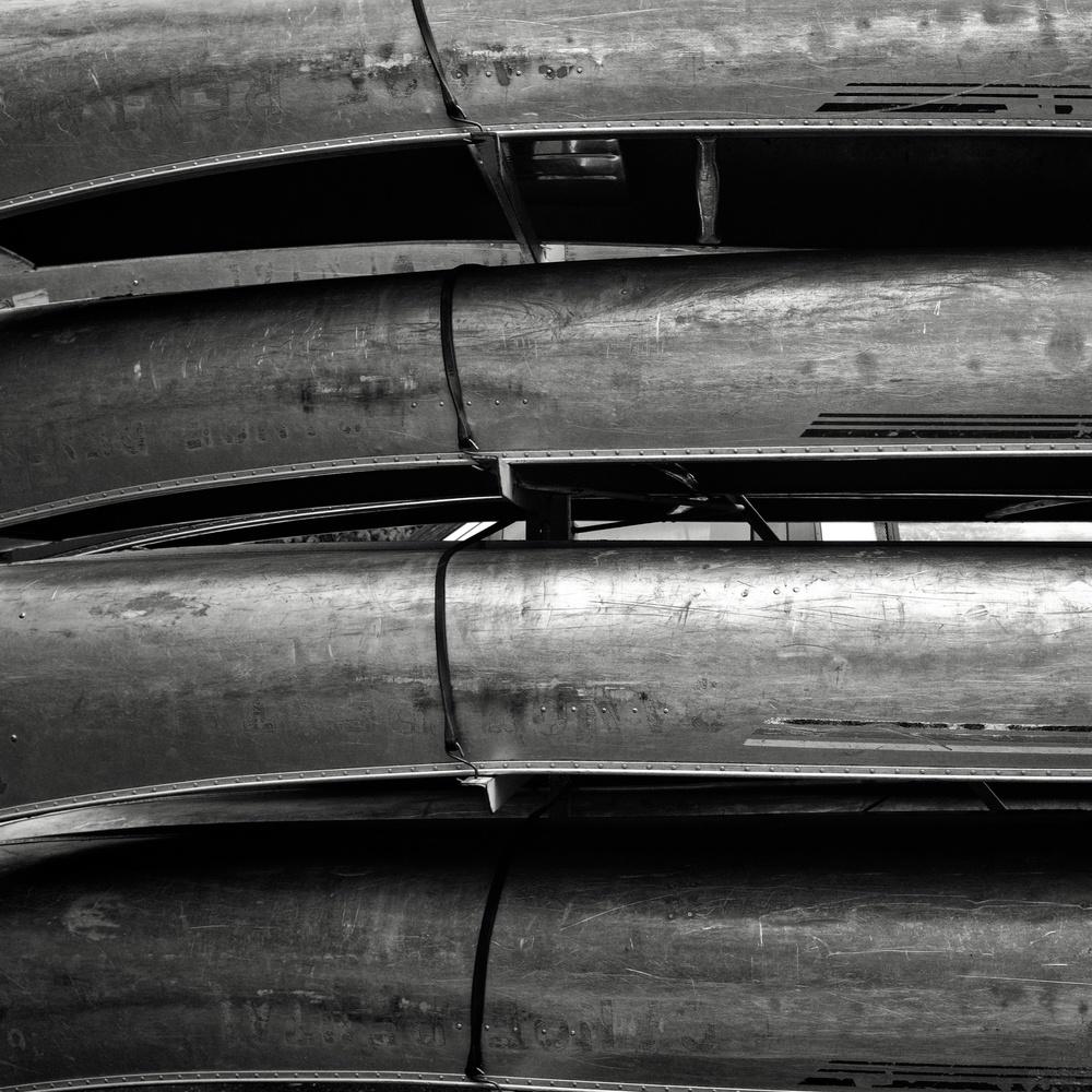 Hard Life Canoe Rental by Ken Savage