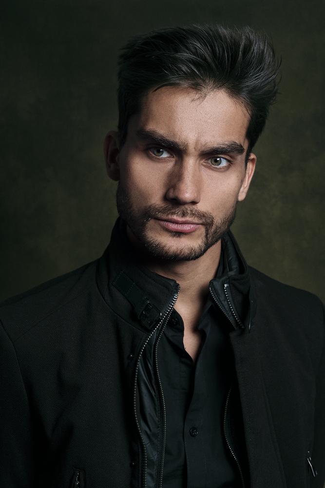 Alvaro Portrait by Charles Wolf