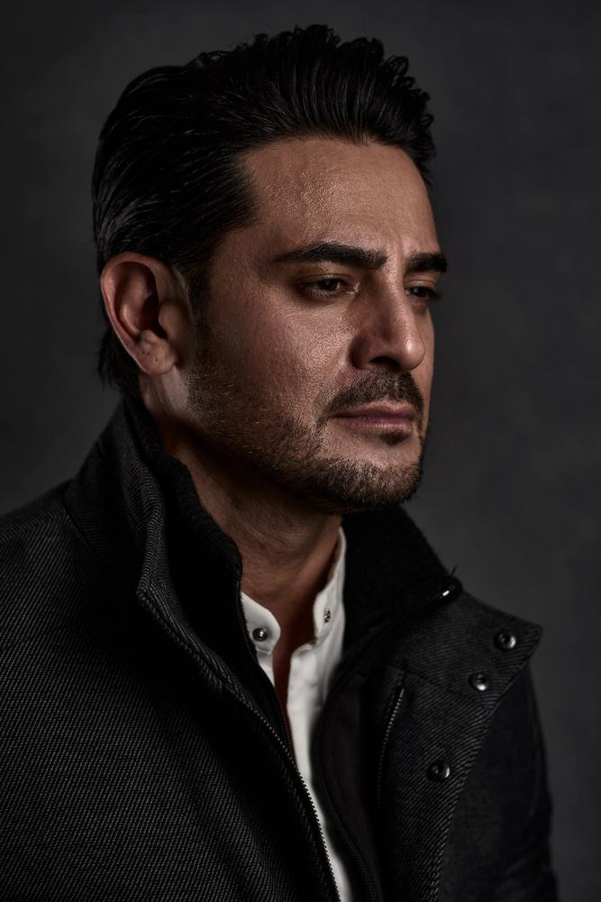Ricardo Franco Portrait by Charles Wolf