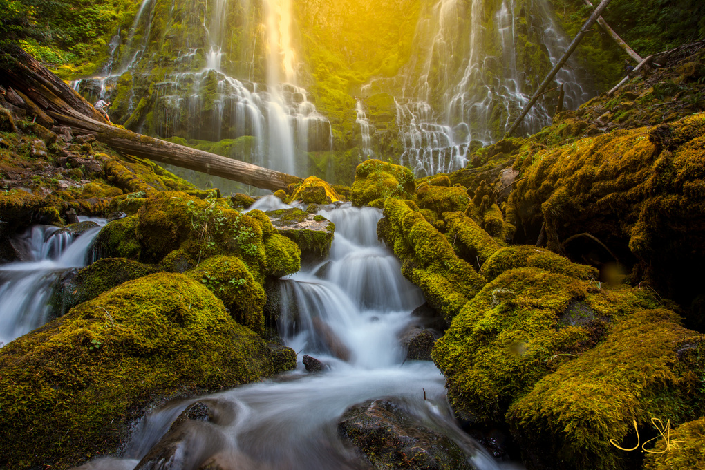 Proxy Falls by Jeff Stiles