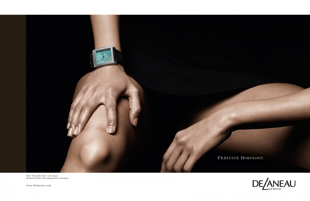 Campaign for DeLaneau Watches
