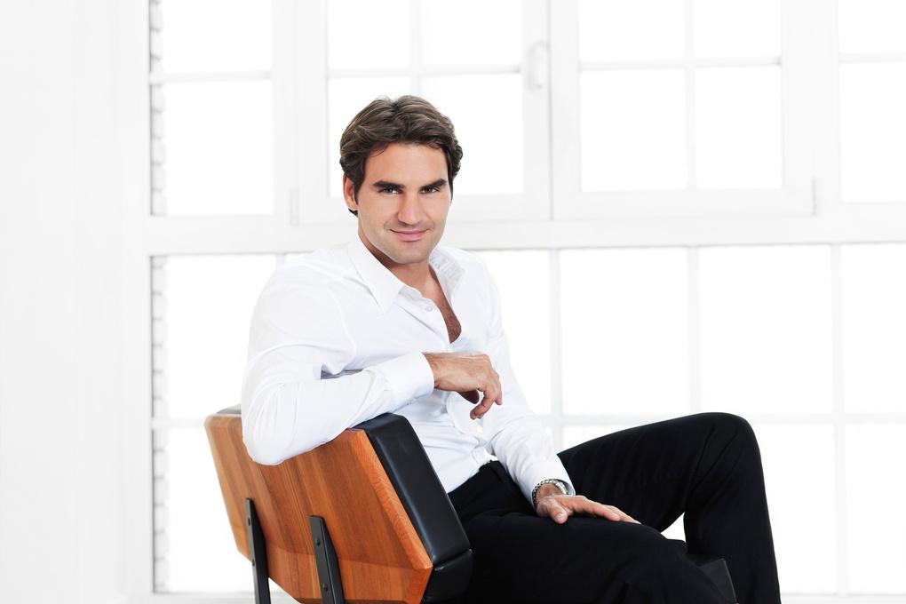 Roger Federer by Marc Gysin