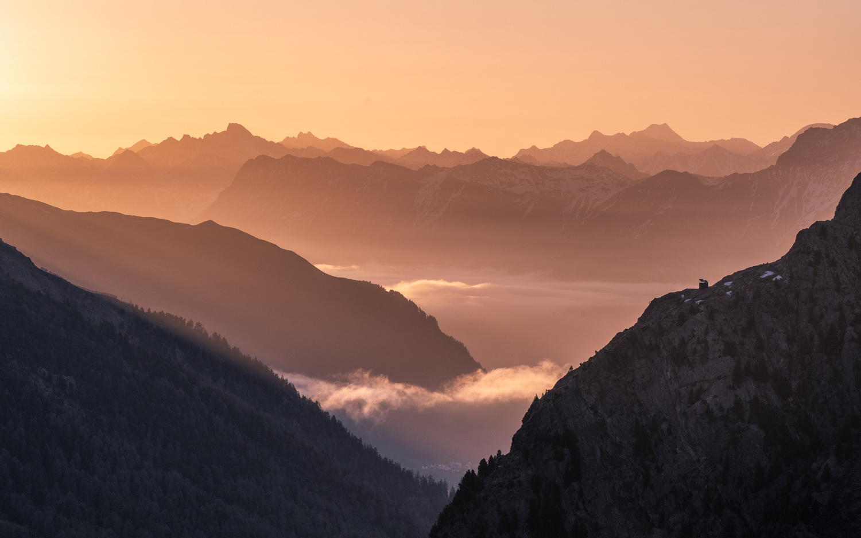 Flüela Sunrise by Oliver Kubitz