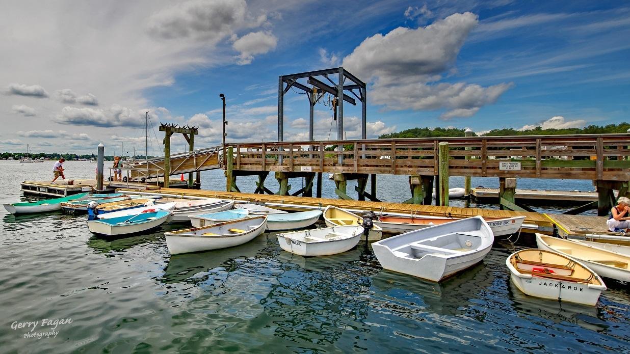 Frisbee Docks by gerry fagan