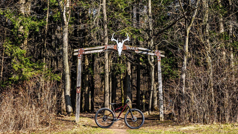Jim's Trails by Jennifer Tomaloff