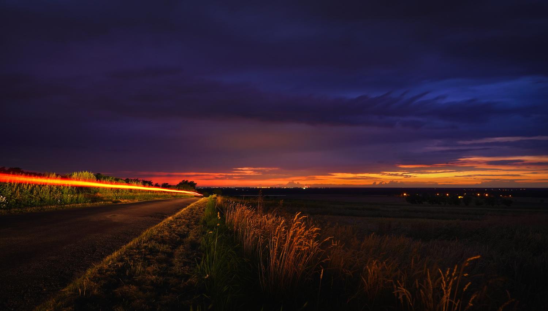 After sunset by Ewa Dembińska
